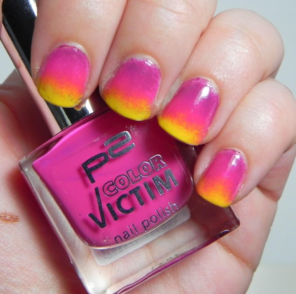 Multi Gradient Summer Nails   Carina Teresa Beauty Blog