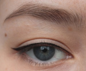 Eyeliner bei Schlupflidern