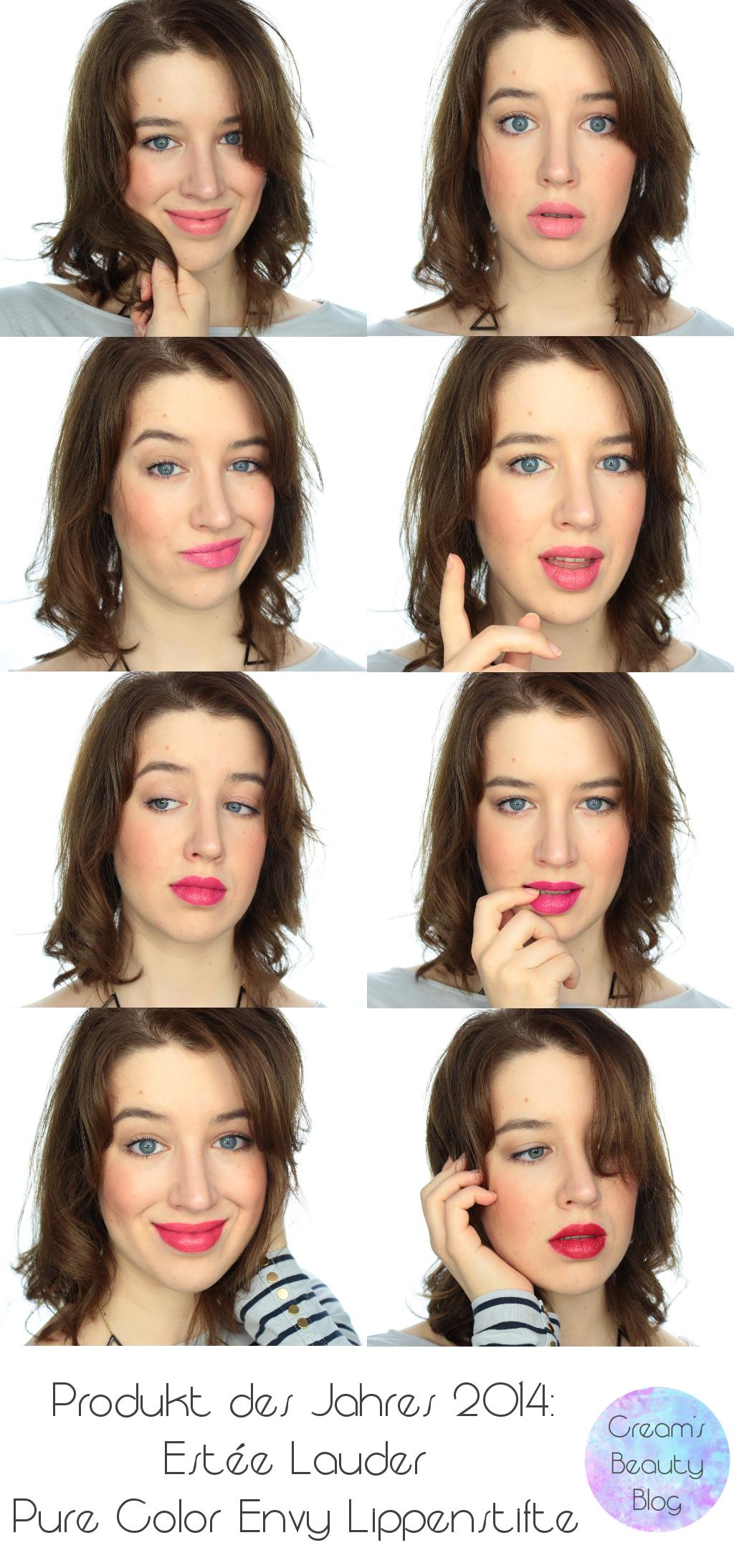 Estee Lauder Pure Color Envy Lippenstift Tragebild