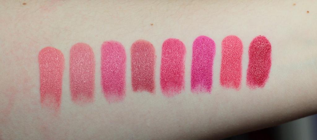 Estee Lauder Pure Color Envy Lippenstift Swatches