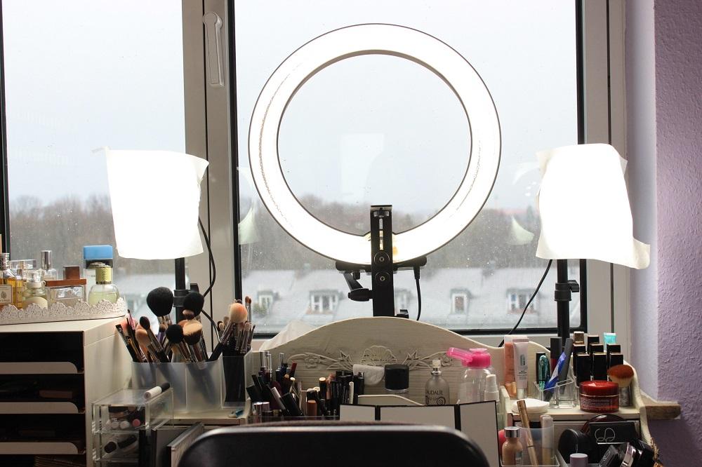 Erfahrungen zum Ringlicht bei Beauty Fotografie - Cream\'s Beauty Blog