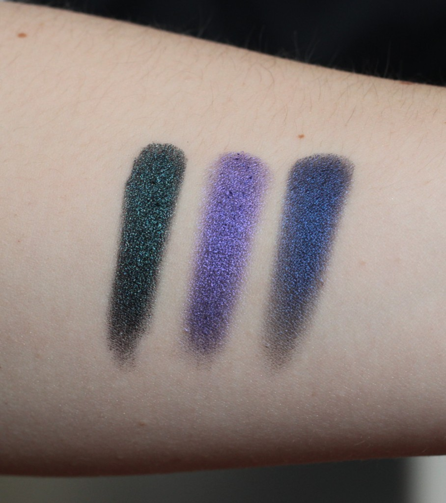 Makeup Geek Foiled Lidschatten Swatches