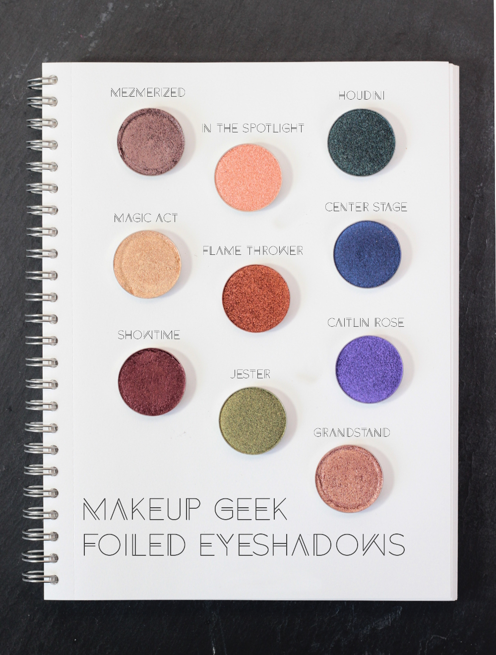 Makeup Geek Foiled Lidschatten