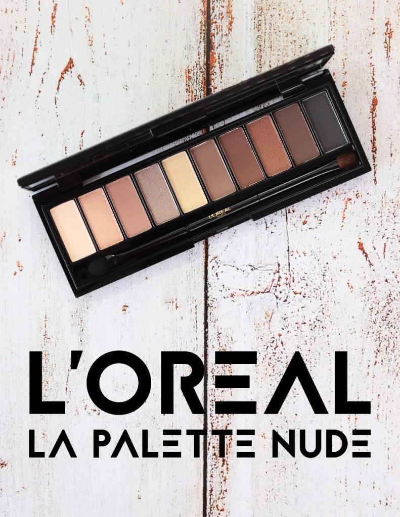 L'Oreal La Palette Nude