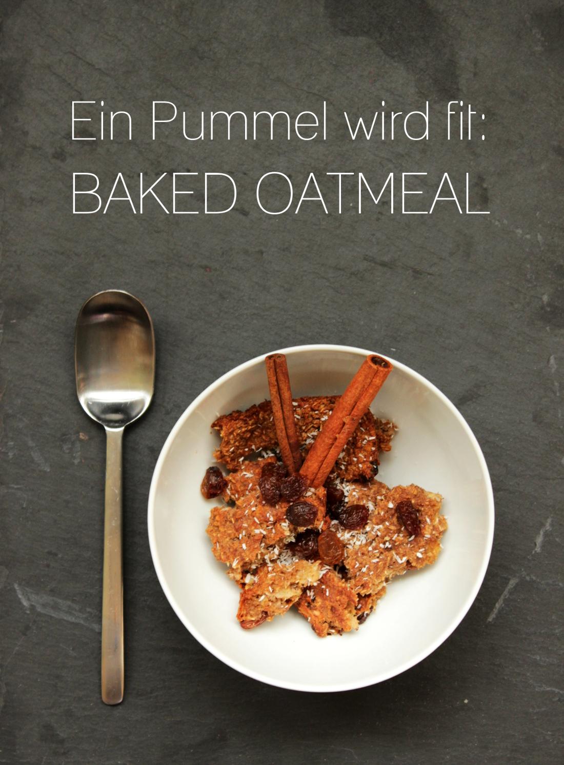 Baked Oatmeal ohne Zucker