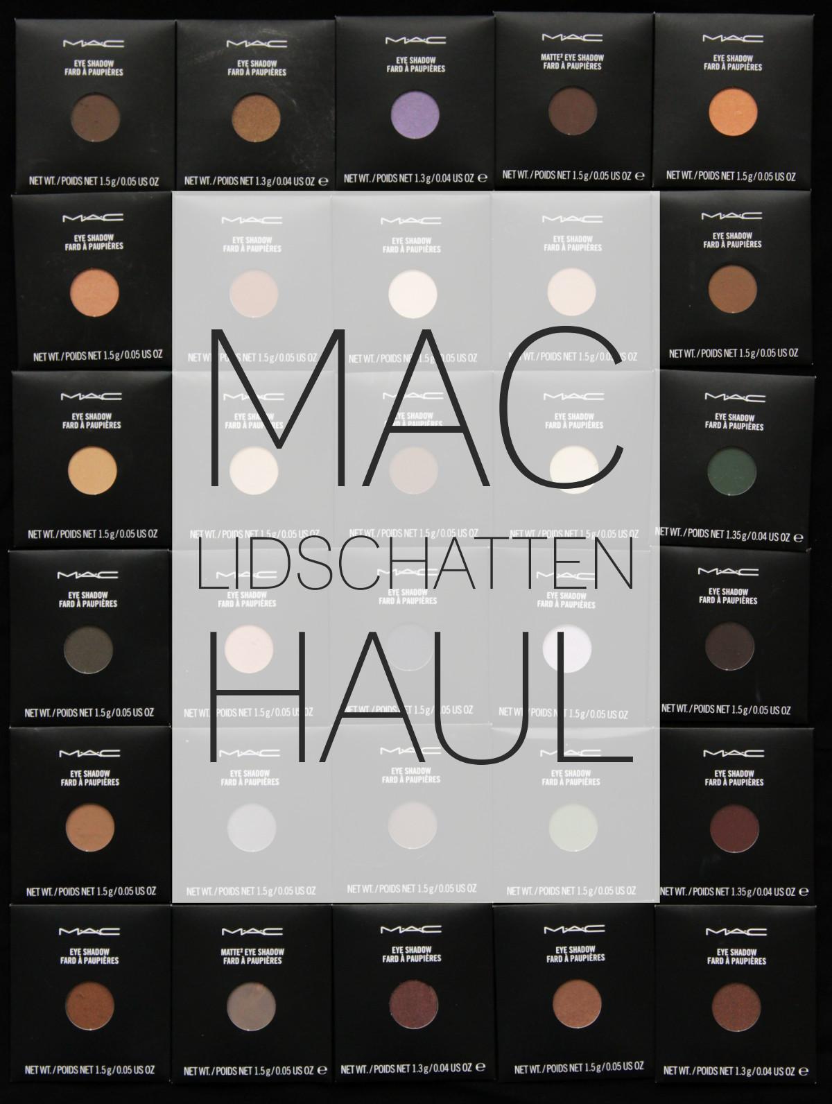 MAC Lidschatten Haul