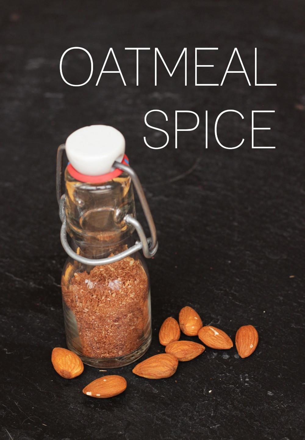Oatmeal Spice Rezept