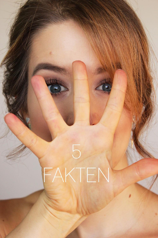 5 Fakten über mich