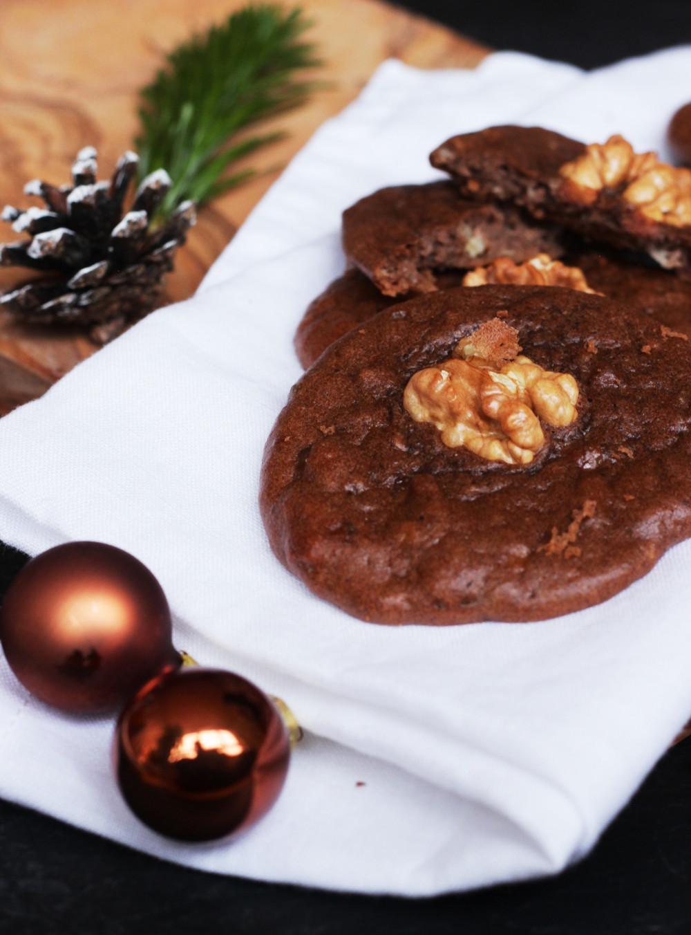 Zuckerfreie Erdnuss-Schoko-Cookies Rezept