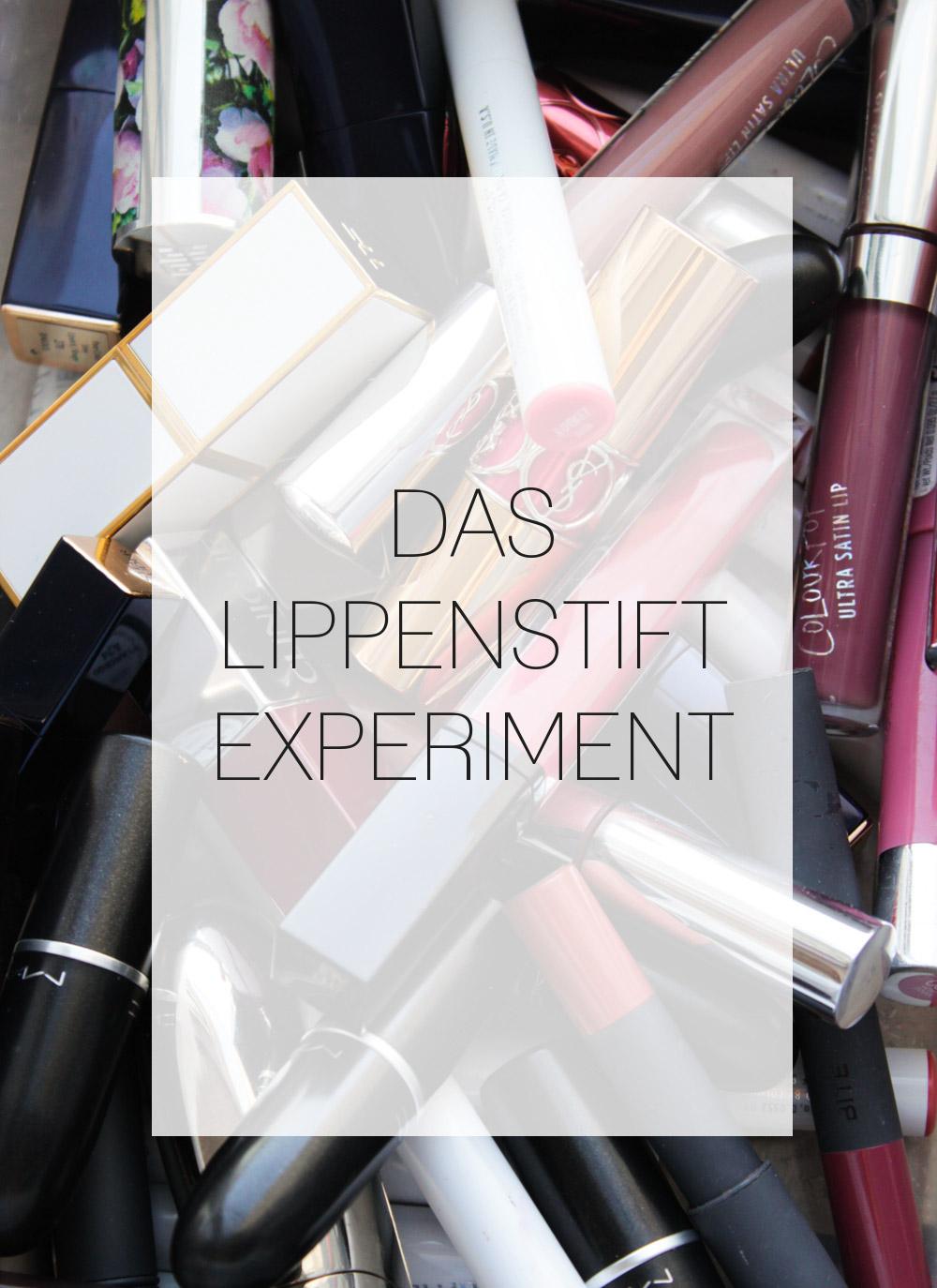 lippenstifte experiment