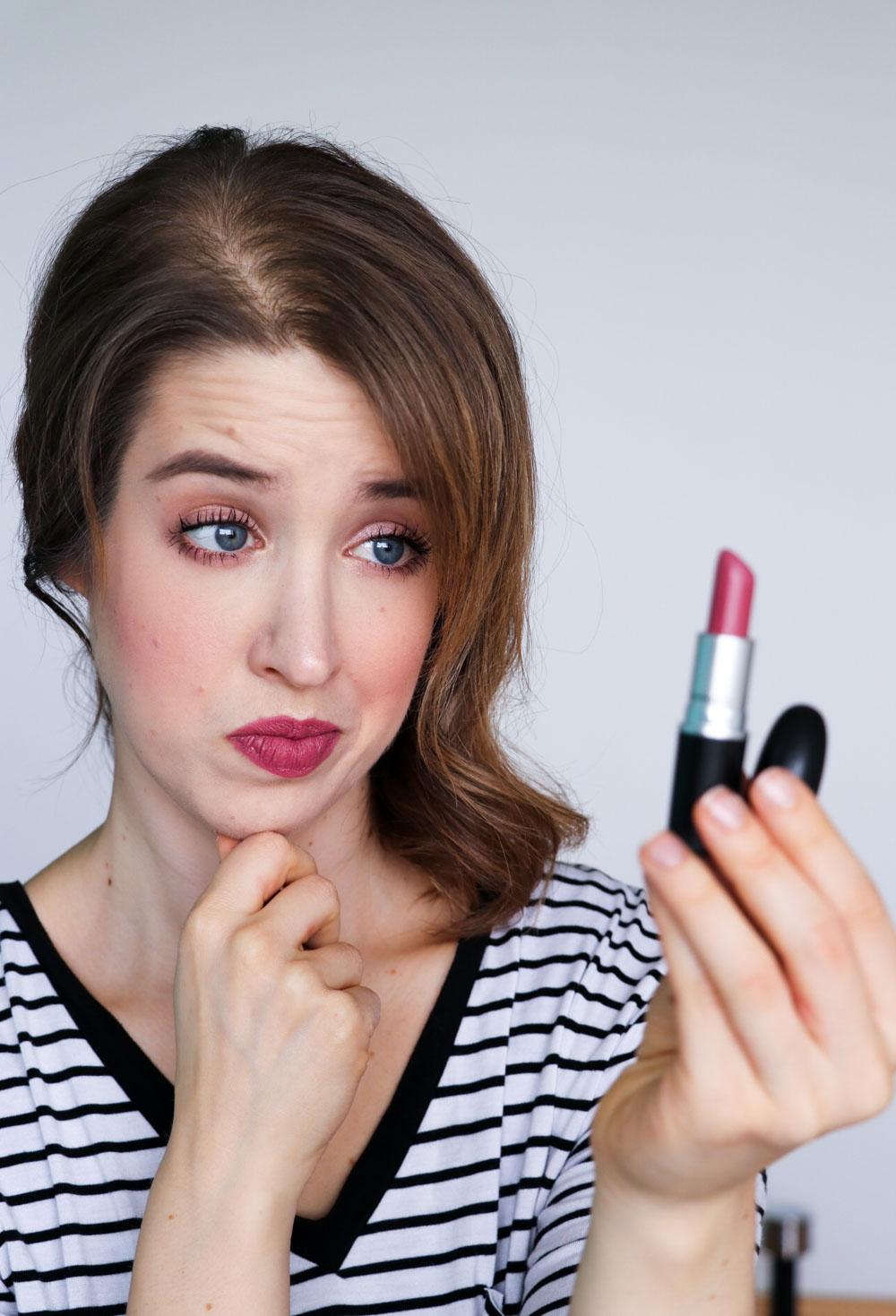 Lippenstift Experiment