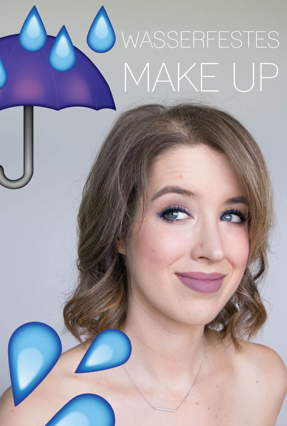 Wasserfestes Make Up