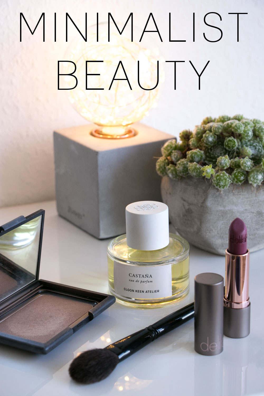 minimalistische Make Up Tipps