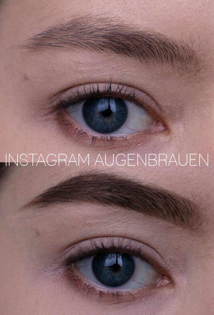 Instagram Augenbrauen Tutorial