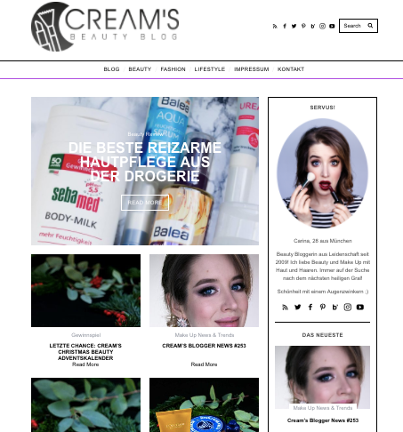 Cream's Beauty Blog