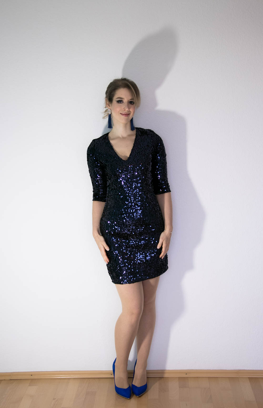 Glitzer Party Outfit
