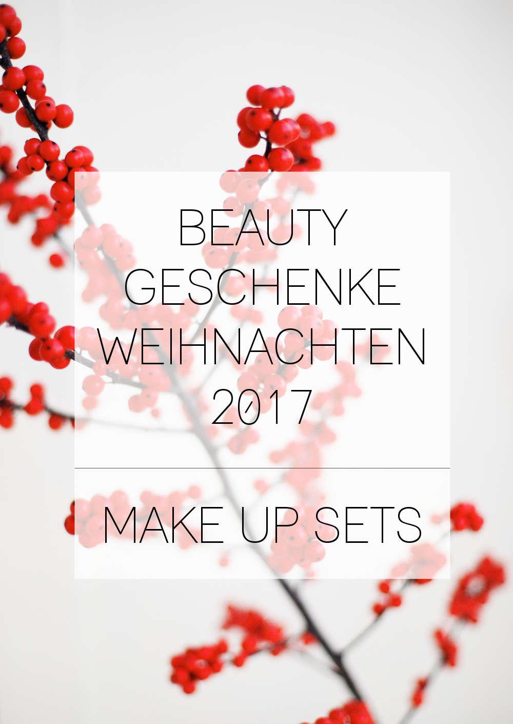 Besondere Beauty Geschenke für Weihnachten: Make Up Sets - Cream\'s ...
