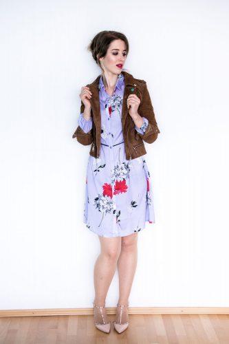 Modetrend Blumenkleid