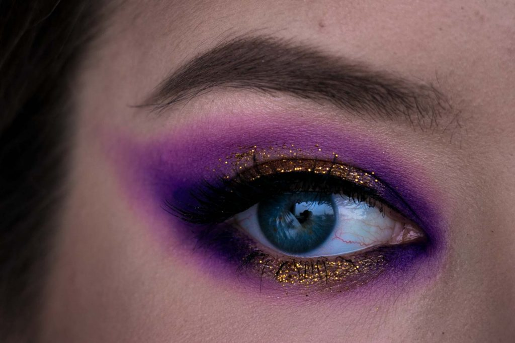 Make Up Look Ultraviolett