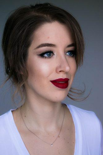 klassischer make up look