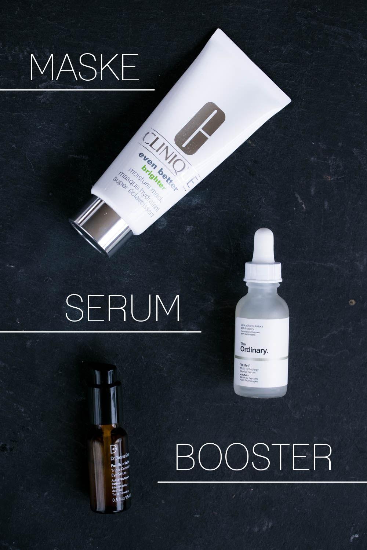 Hautpflege Routine