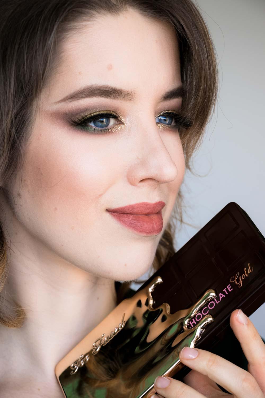 Gewinnspiel Make Up : too faced chocolate gold kollektion make up look ~ Watch28wear.com Haus und Dekorationen