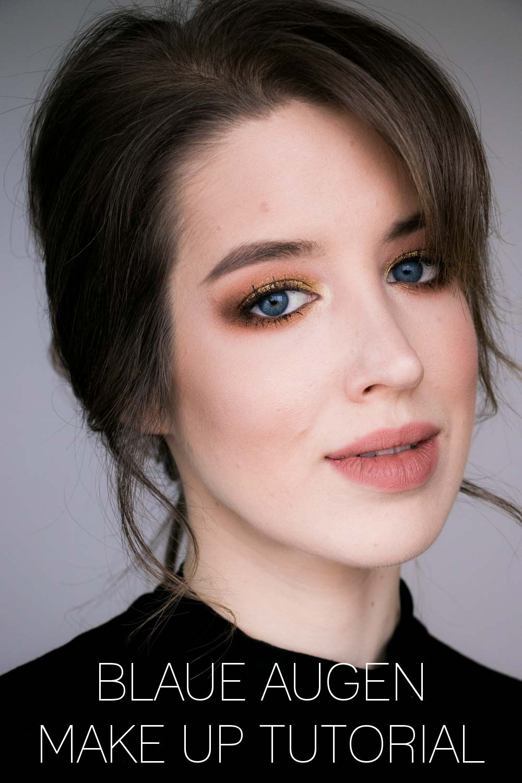 Blaue Augen Schminken Das Make Up Tutorial Creams Beauty Blog