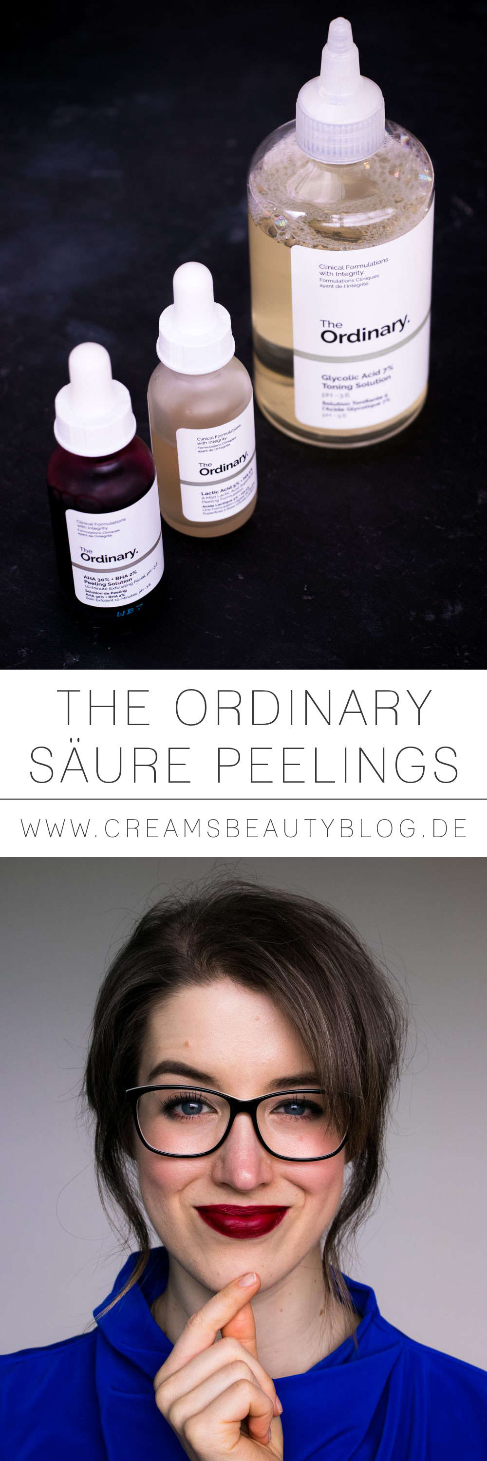 THE ORDINARY Säure Peelings