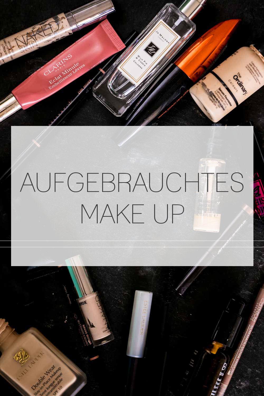 Aufgebrauchtes Make Up