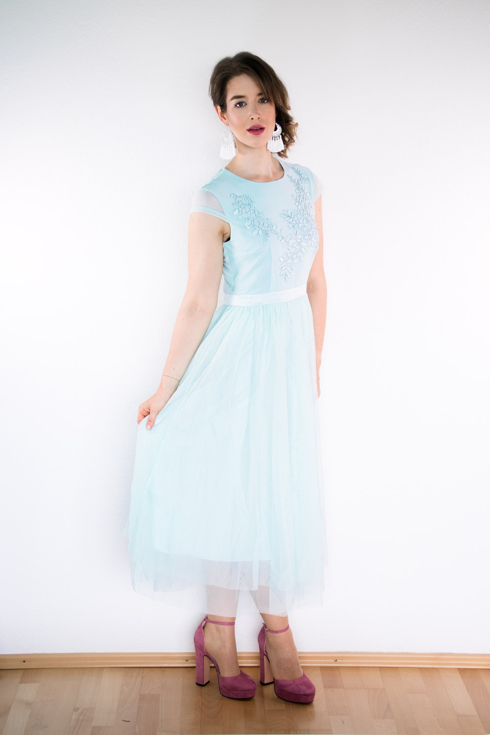 Cocktailkleid in Pastell