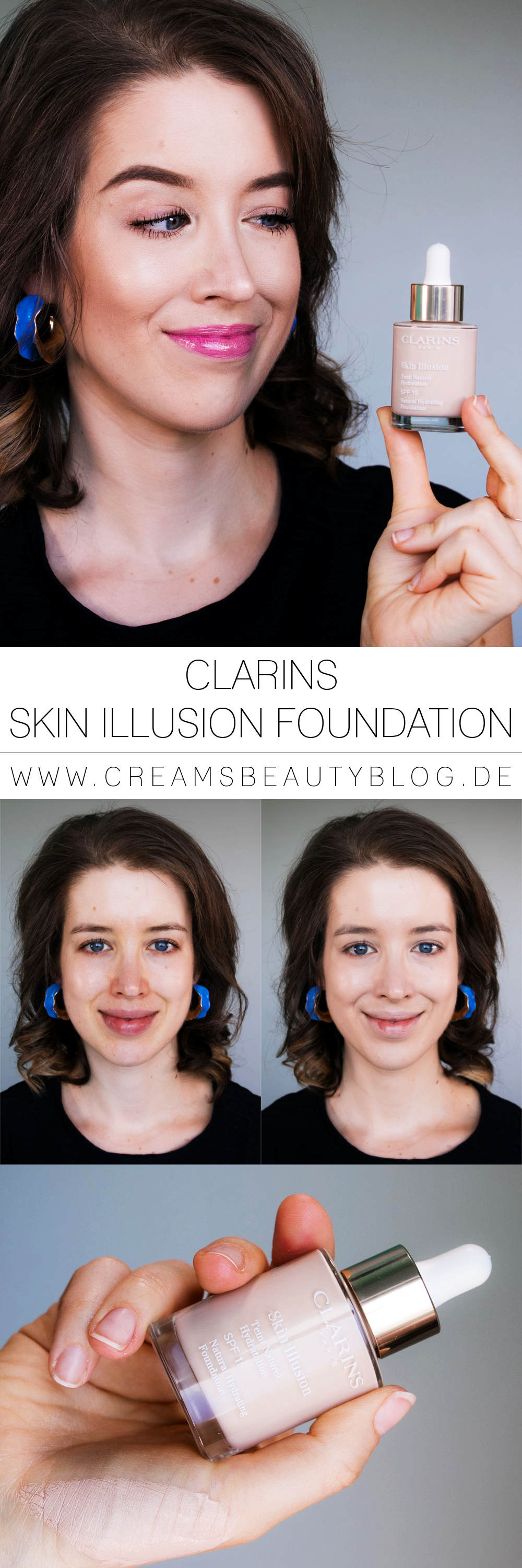 CLARINS Skin Illusion Serum Foundation