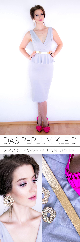 Peplum Kleid