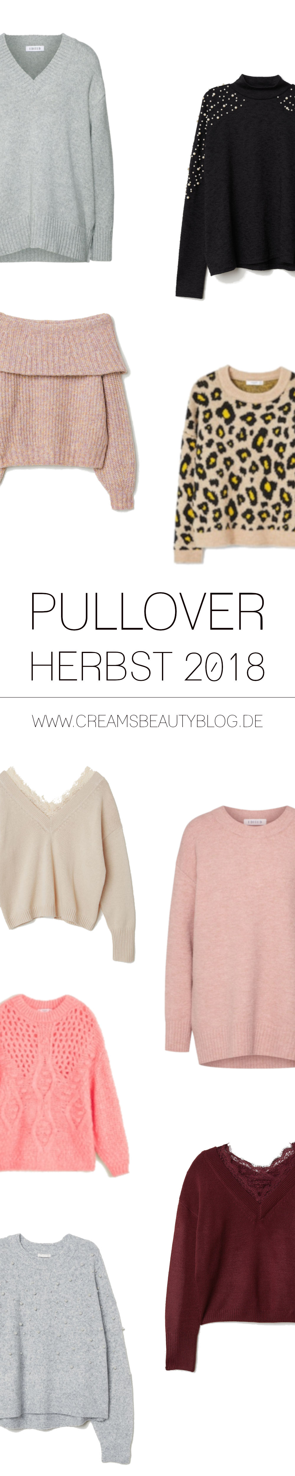 Pullover Herbst 2018