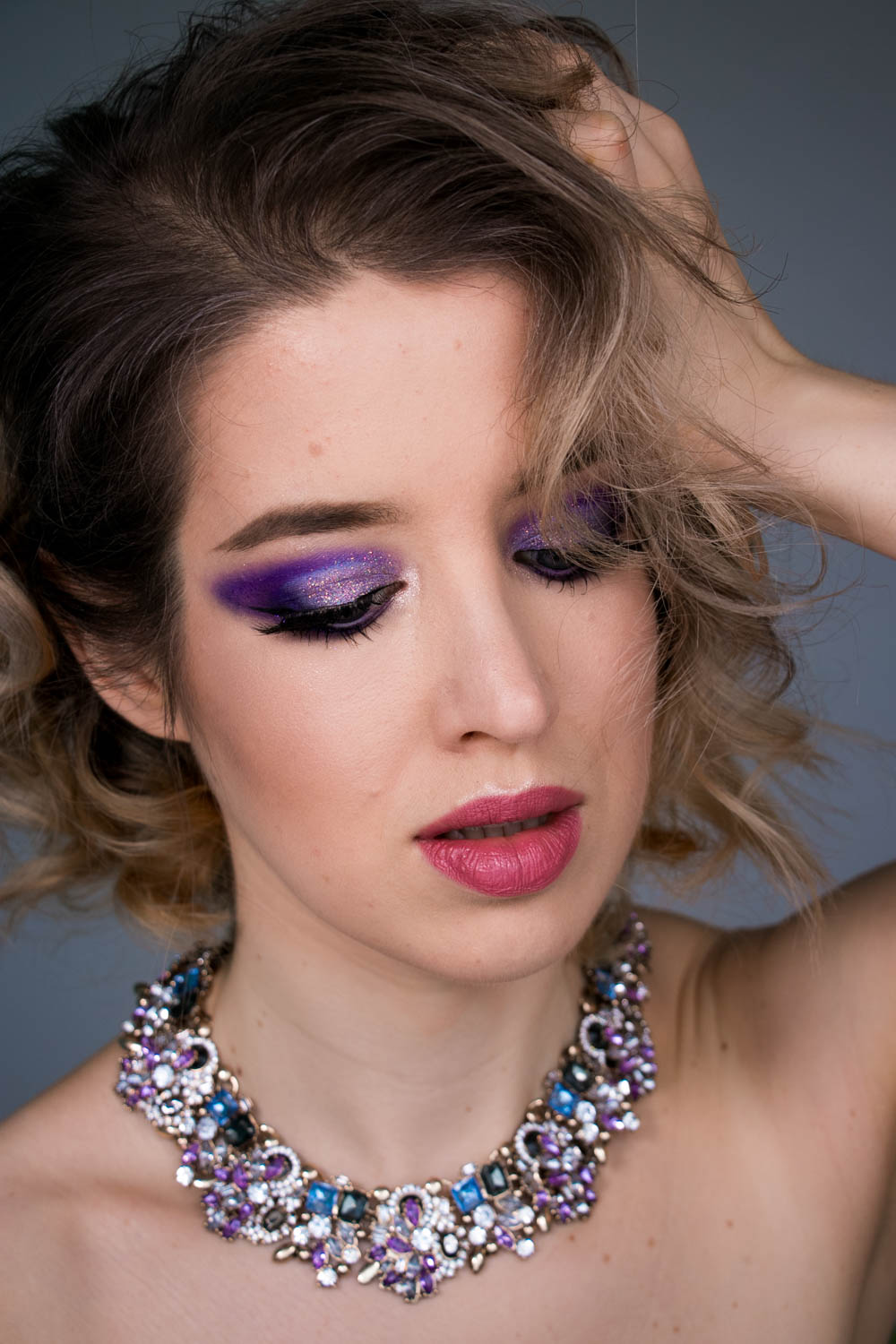 SILVESTER MAKE UP Smokey Eyes