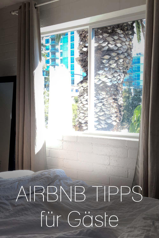 AirBnB Tipps für Gäste
