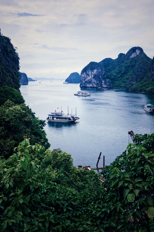 Vietnam Reiseroute