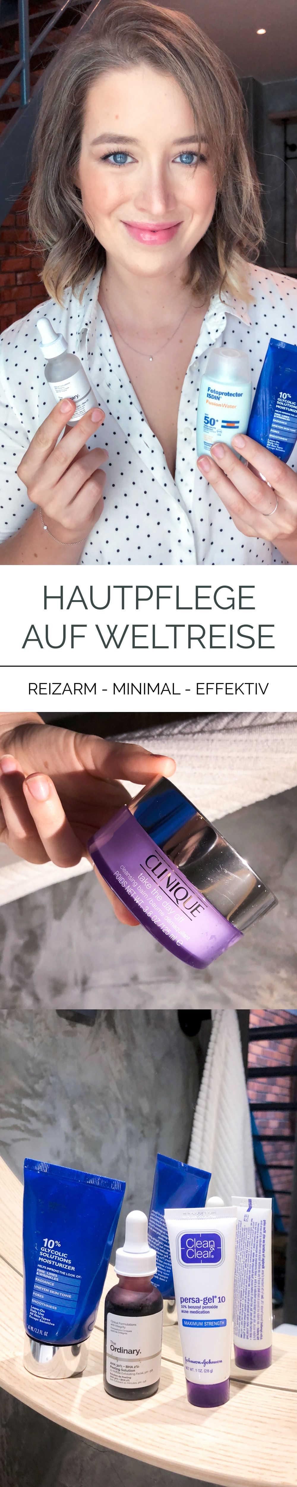 Hautpflege auf Weltreise Pinterest
