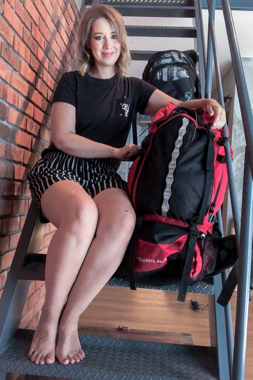 Weltreise Packliste für alleinreisende Frauen