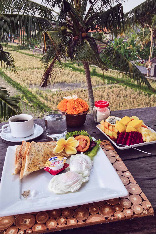 Bali Frühstück