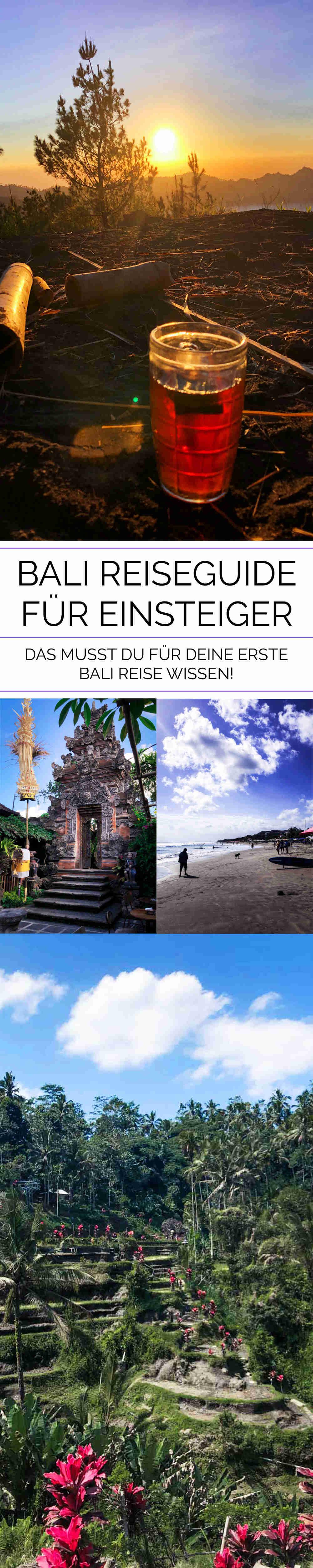 Bali Reiseguide für Einsteiger