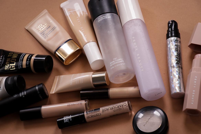 Natürlichen Glow schminken: Teint Produkte