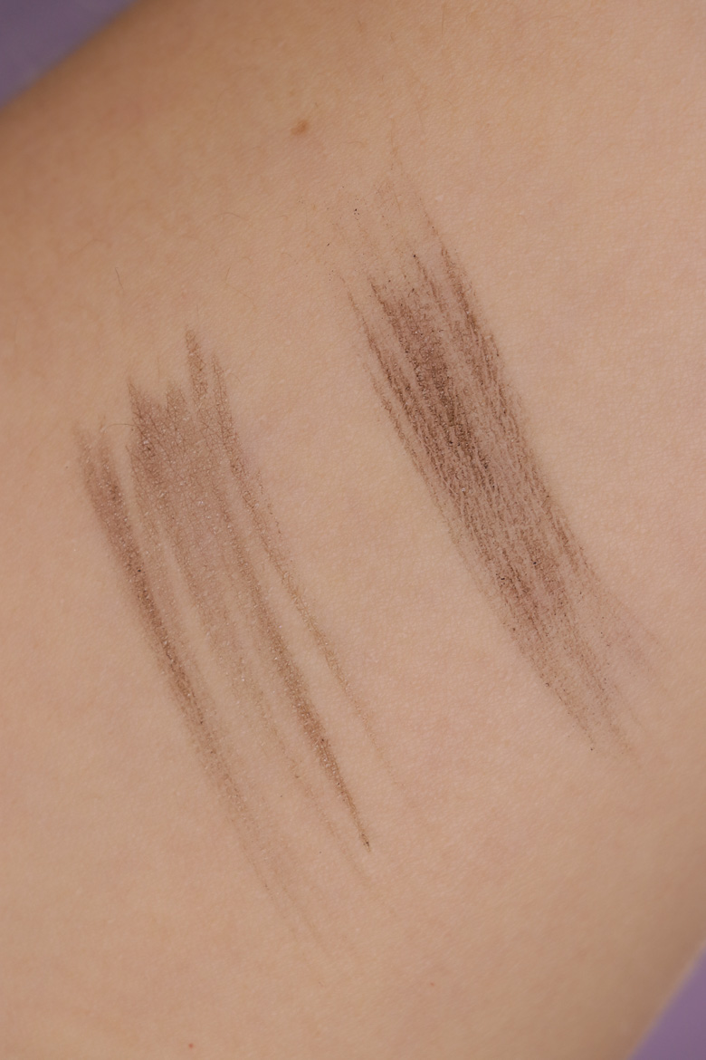 Ardell Stroke A Brow flüssiger Augenbrauenstift Swatches Medium Brown Taupe