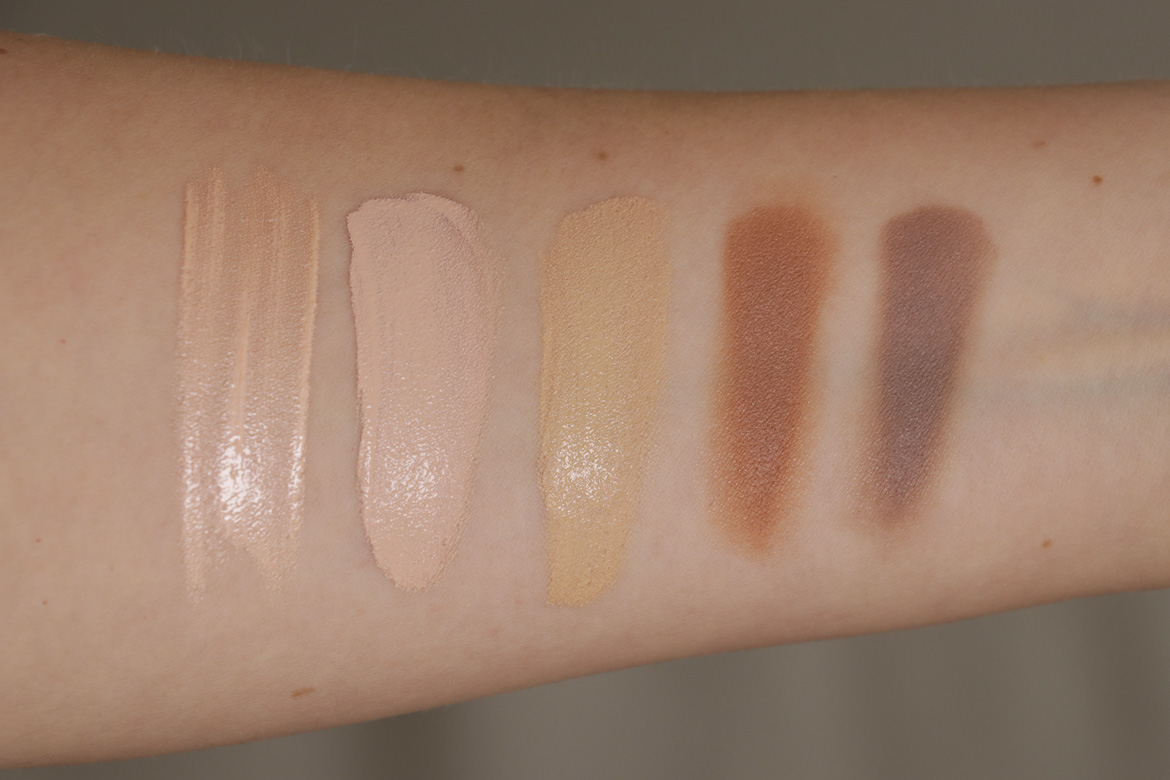 Beauty Favoriten Sommer Swatches Teint