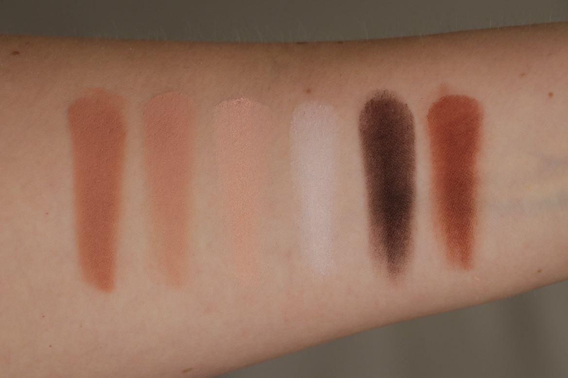 Viseart Neutral Mattes Palette Swatches