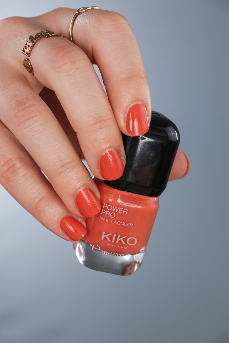 KIKO Power Pro Nail Lacquer 116 Exotic Papaya
