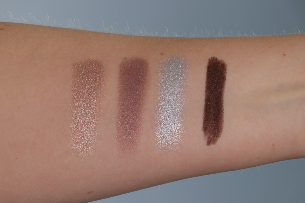 Kiko Water Shadow Swatches