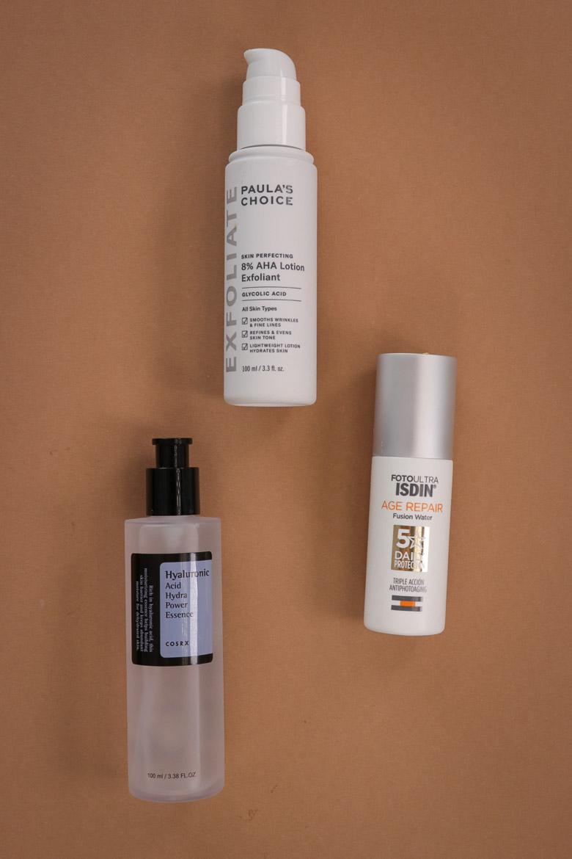 Sommer Hautpflege Routine