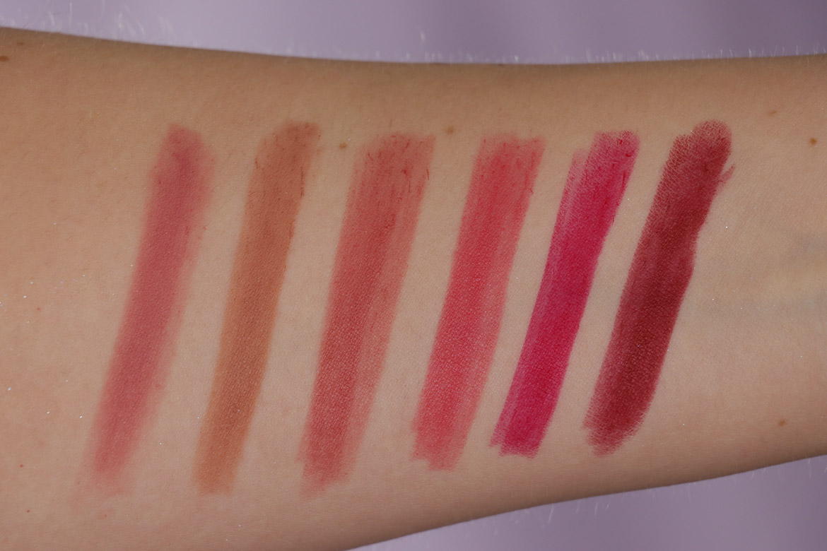 L'OREAL PARIS Infaillible Matte Lip Crayon Swatches