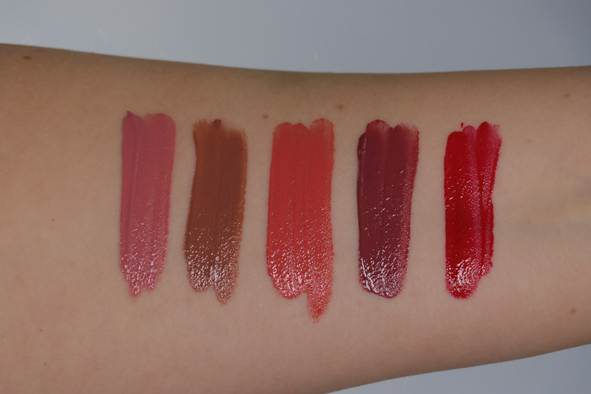 Rouge Bunny Rouge Sweet Excess Glassy Gloss Swatches