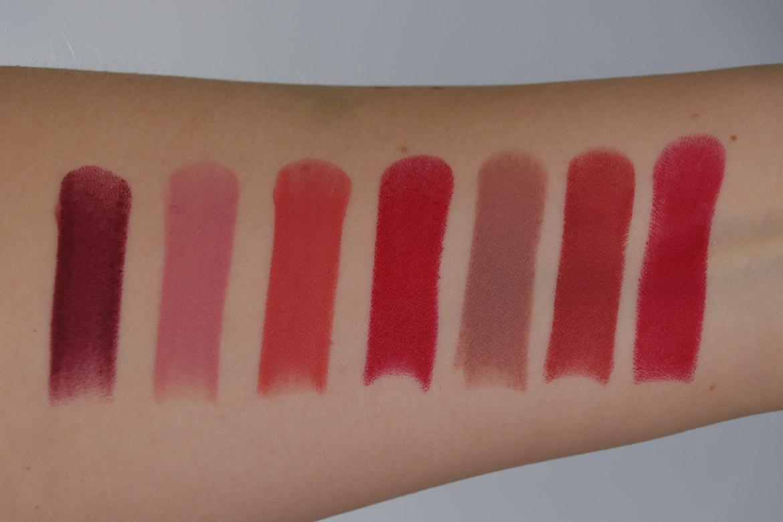 Rouge Bunny Rouge Velvet Whispers Full Colour Matt Lipstick Swatches